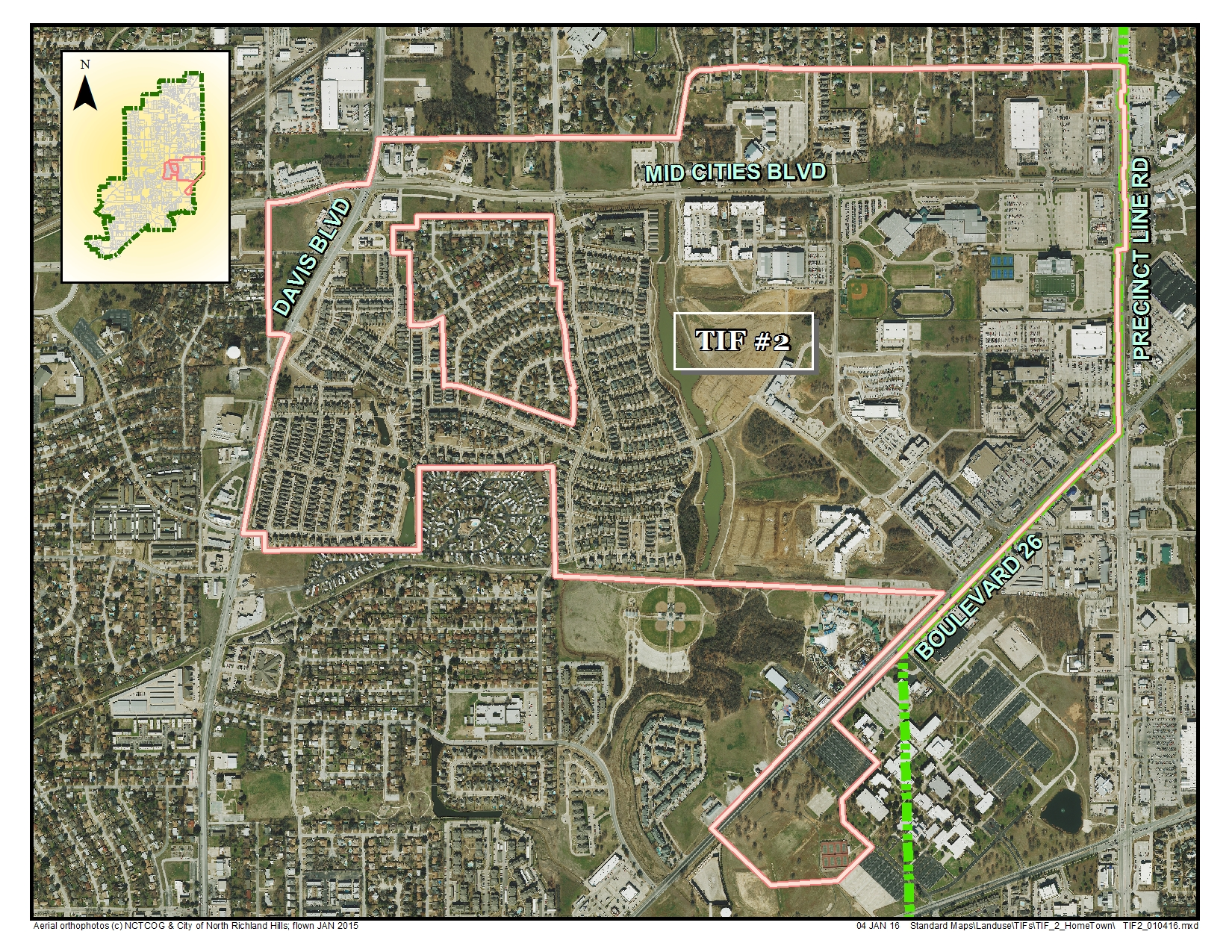 Tax Increment Financing Districts North Richland Hills Tx Official Website