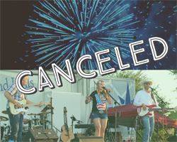Family 4th Event Canceled