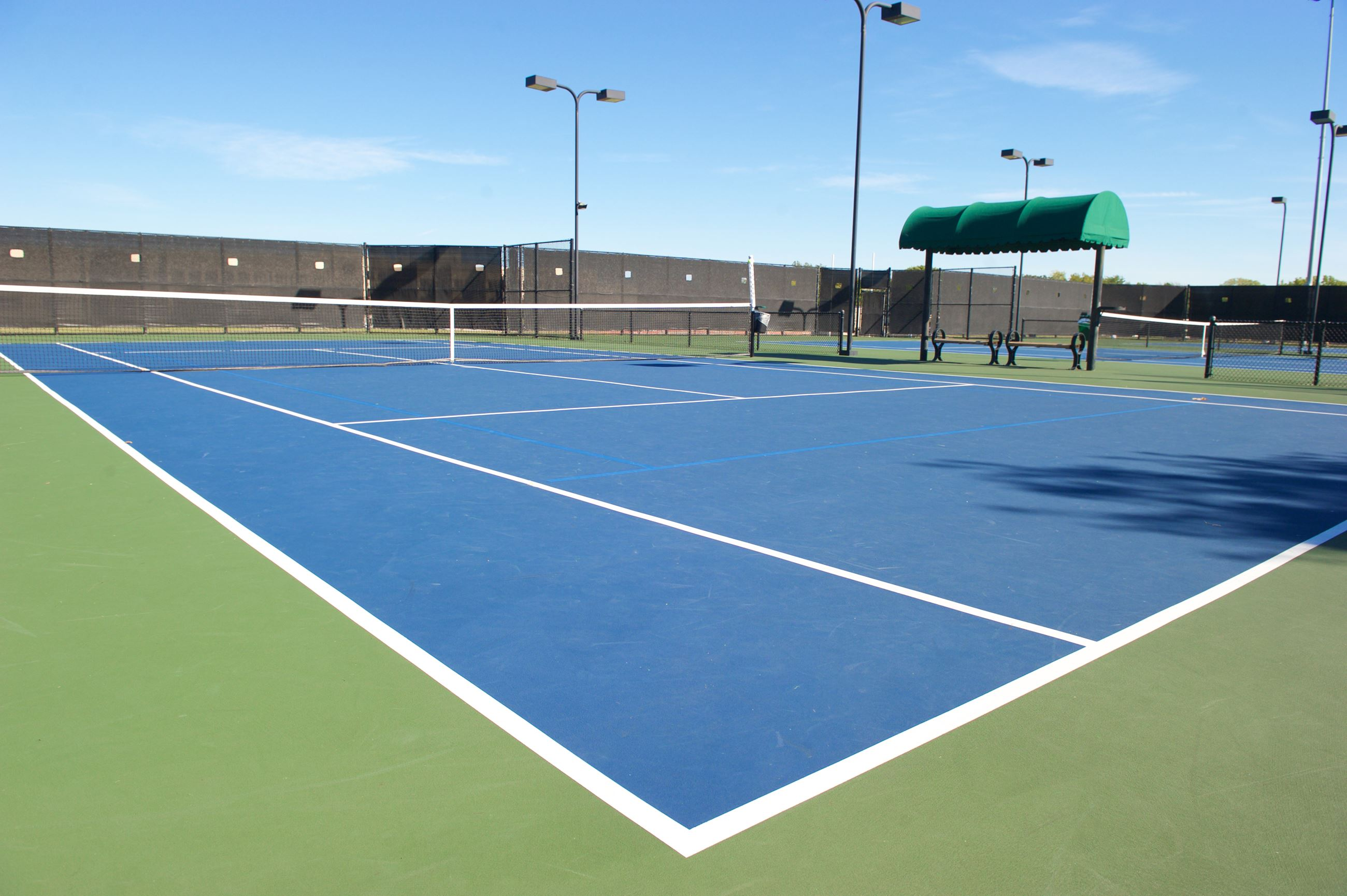 Richland Tennis Center Courts
