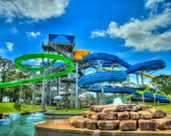 Bounder Slide Tower at NRH2O