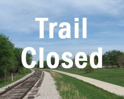 Trail closed pic