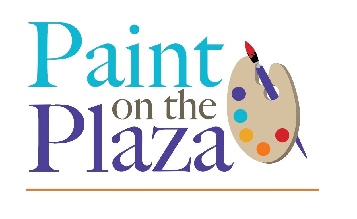 Paint on the Plaza logo