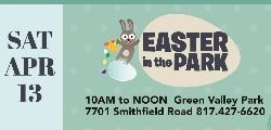 2019 April Easter in the Park