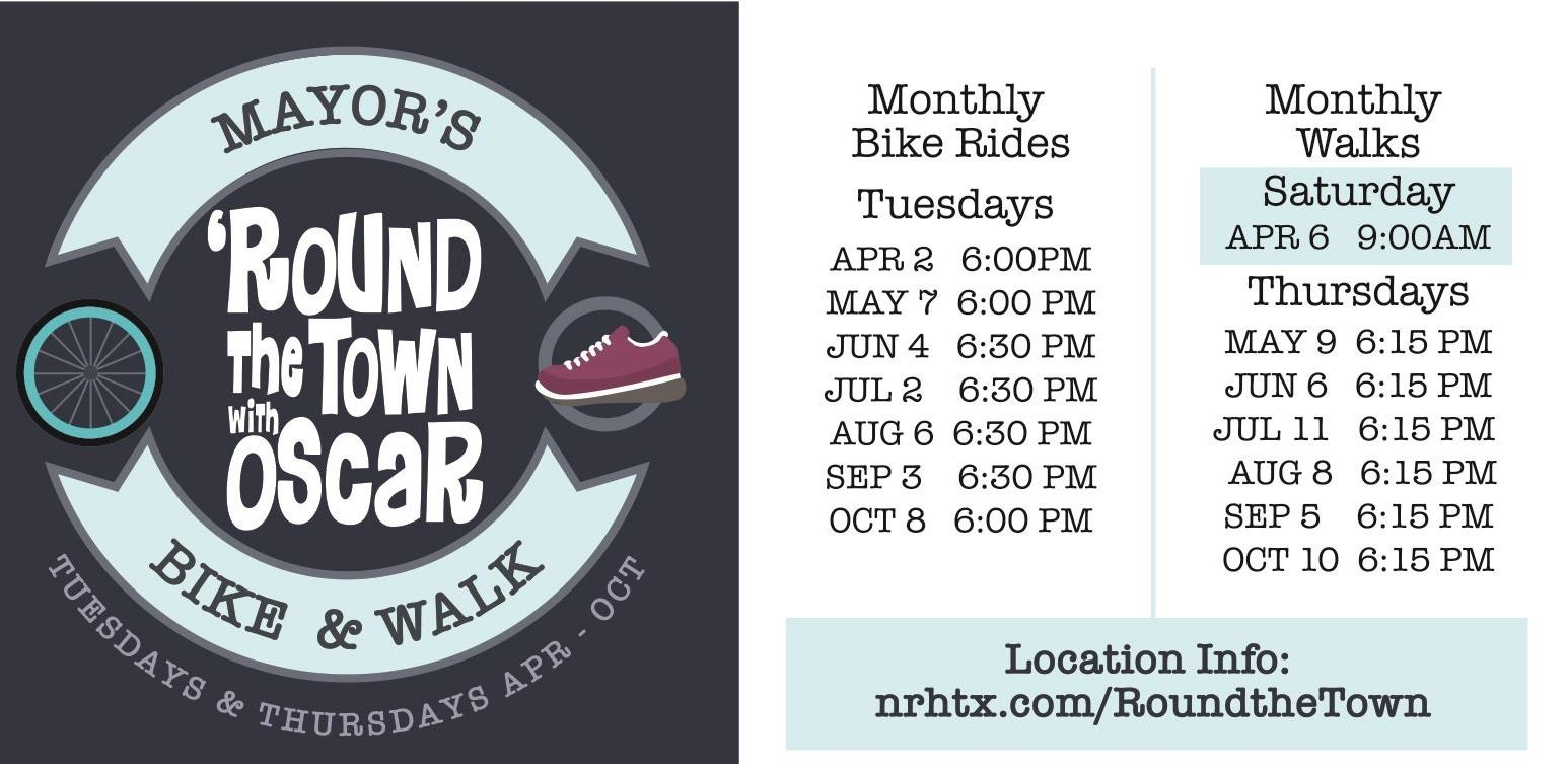 Mayors Ride and Walk Ad 2019
