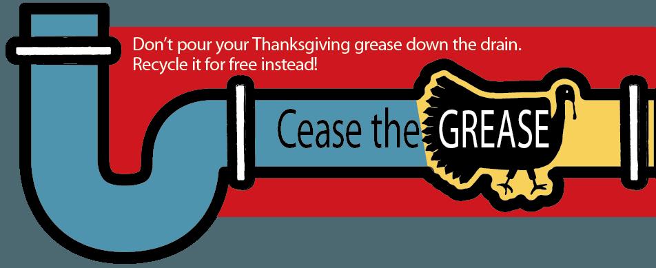 graphic of turkey clogging drain pipe