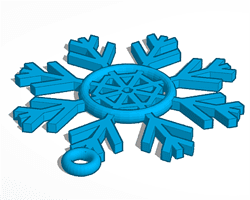 Tinker CAD ornament design