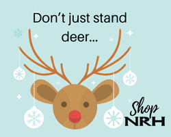 Don't just stand deer: Shop NRH