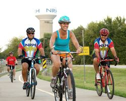 cycling on NRH trails
