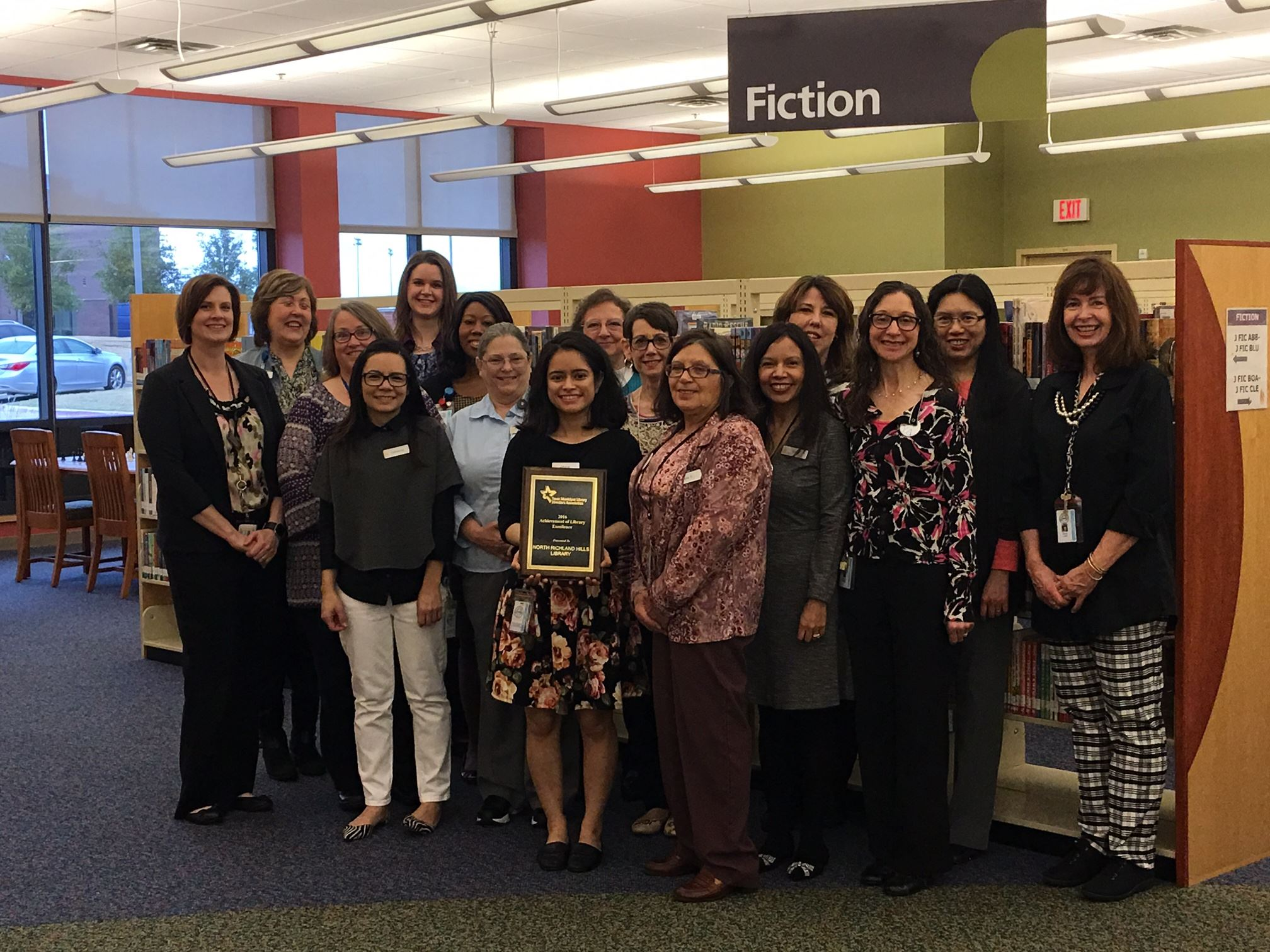 north richland hills tx official website library excellence award