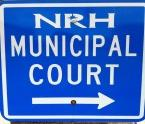 Municipal Court Sign