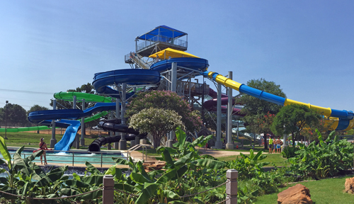 Bounder's Thrill Tower at NRH2O