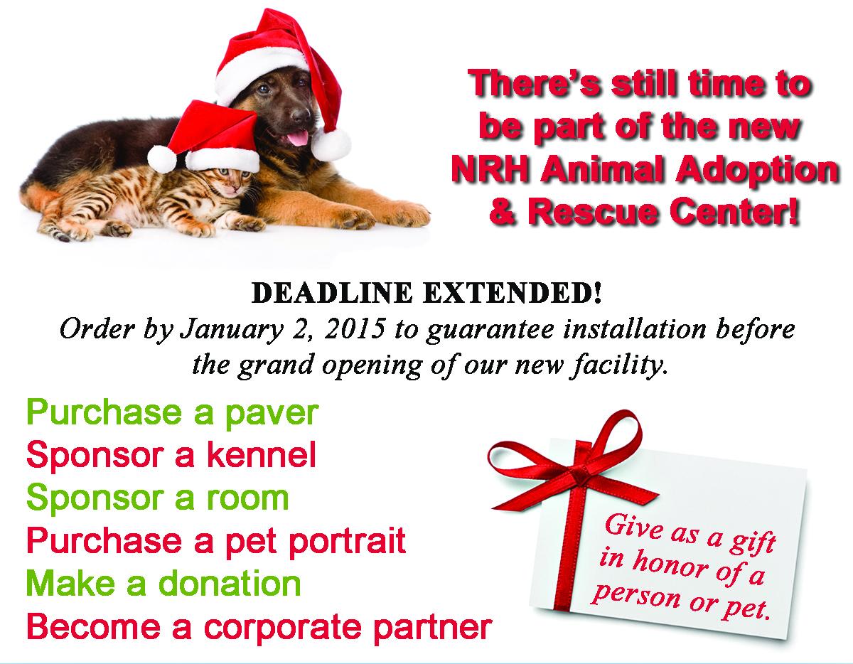Deadline Extended Fundraiser